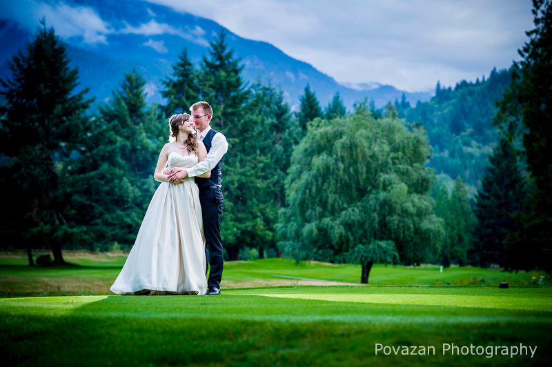 Squamish Valley Golf Club wedding
