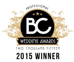 BC Wedding Award Best wedding photographer Vancouver 2015