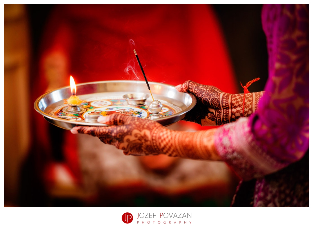Kelowna wedding photographer Povazan Photography Indian mehndi and pooja ceremony