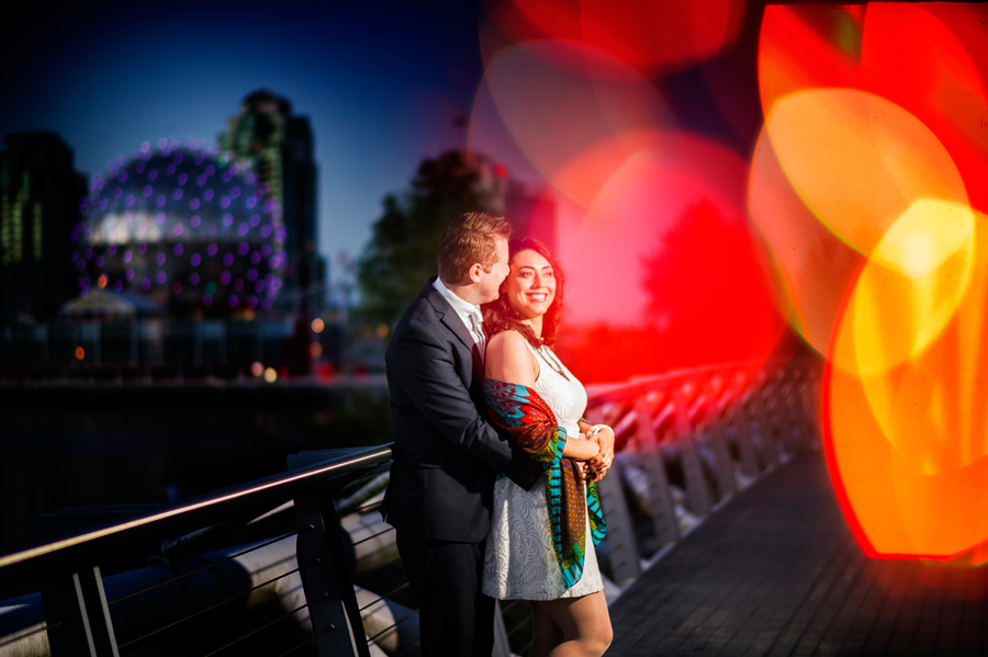 Granville Island Engagement Photographer